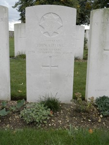Lt John Kipling IRISH GUARDS